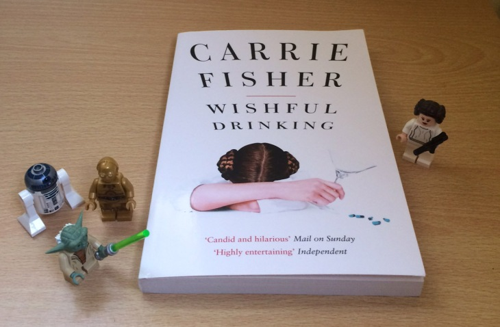Carrie Fisher Wishful Drinking book review