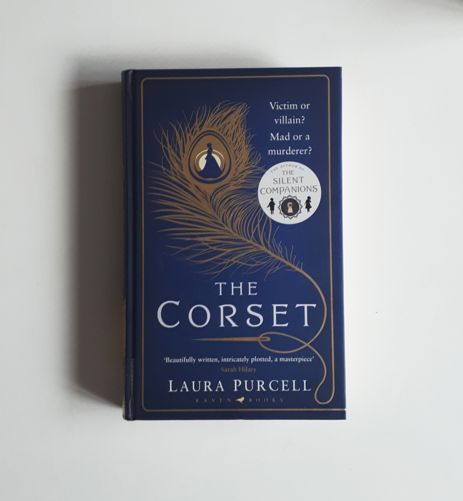 The Corset Laura Purcell book review hardback cover