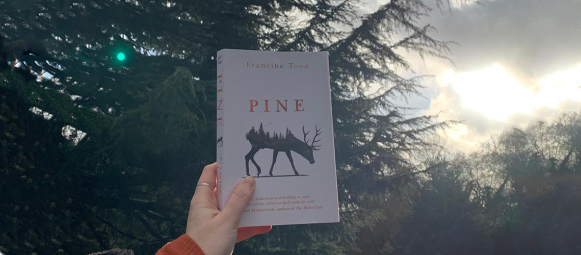 Pine Francine Toon book review books on the 7:47