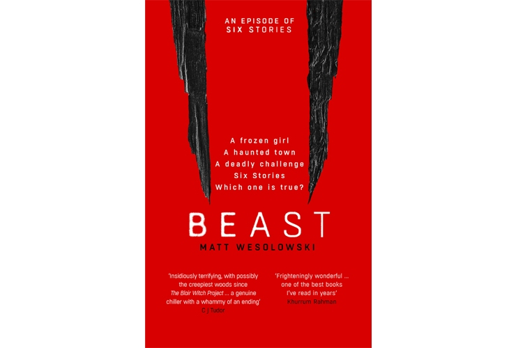 Beast Matt Wesolowski book tour review