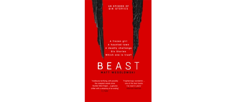 Beast Matt Wesolowski book tour review