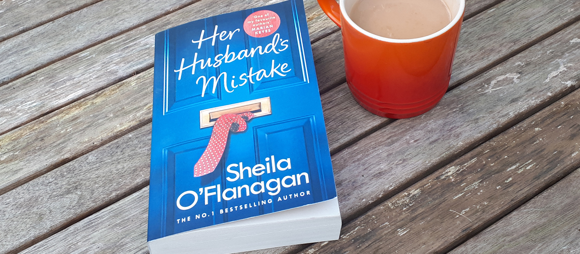 Her Husband's Mistake Sheila O'Flanagan book review books on the 7:47 blog tour