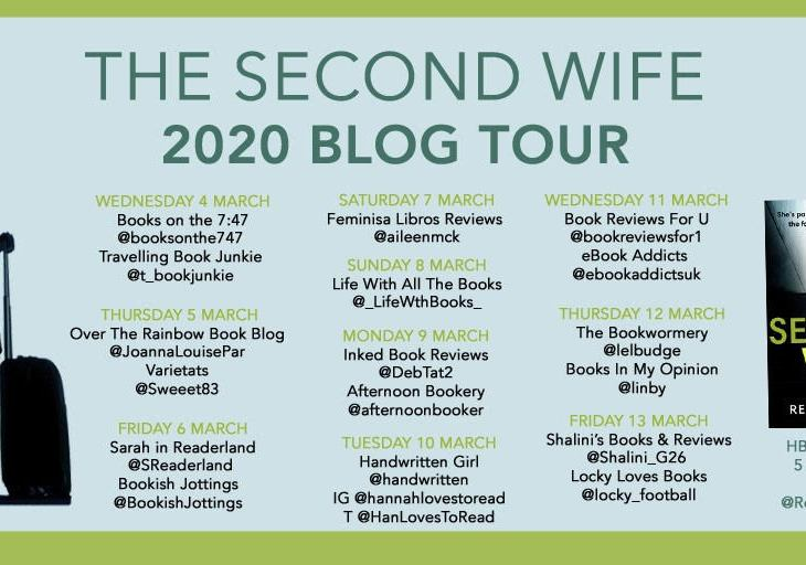 Books on the 7:47 blog tour book review The Second Wife Rebecca Fleet