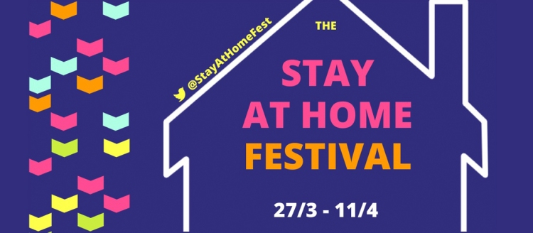 The Stay at Home Literary Festival books on the 7:47