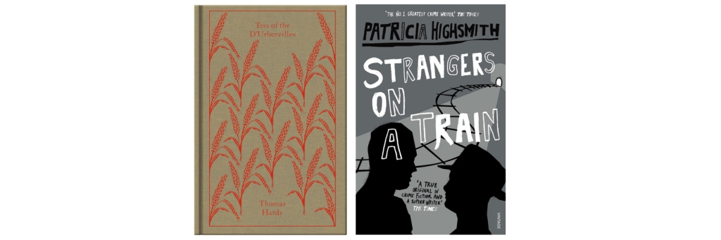 Tess of the D'Ubervilles Strangers on a Train book covers