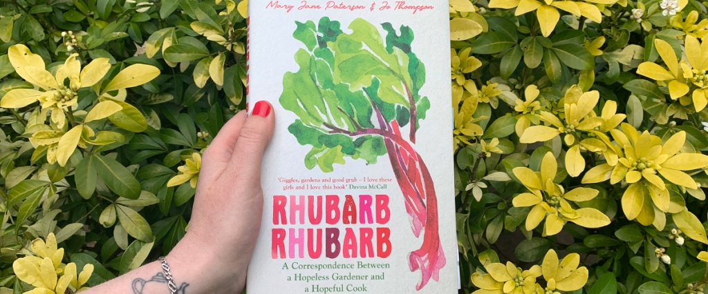 Rhubarb Rhubarb Mary Jane Peterson Jo Thompson book review books on the 7:47