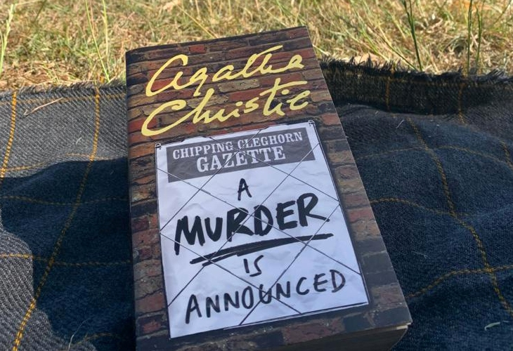 A Murder is Announced Agatha Christie book review